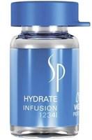 Wella SP Hydrate Infusion - Эликсир для увлажнения волос в ампулах 6х5мл