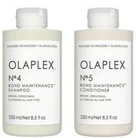 """Olaplex No.4 + No.5 Bond Maintenance KIT - Набор """"Система защиты волос"""" шампунь + кондиционер 250мл + 250мл"""