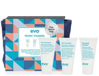 "EVO Tropic Thunder hydrate travel set - Набор увлажняющий для волос ""Гром в Раю"" 30 + 30 + 30мл"