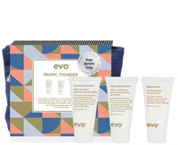 "EVO Tropic Thunder style travel set - Набор для стайлинга волос ""Гром в Раю"" 30 + 30 + 30мл"